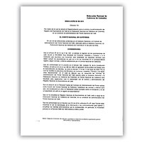 Reglamentación para el registro de exportadores